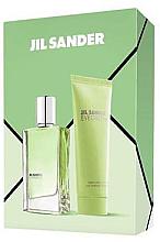 Fragrances, Perfumes, Cosmetics Jil Sander Evergreen - Set (edt/30ml + body/lot/75ml)