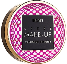 Fragrances, Perfumes, Cosmetics Face Compact Powder - Hean After Makeup-up Cashmere Compact Powder