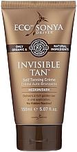 Fragrances, Perfumes, Cosmetics Self-Tanning Cream - Eco by Sonya Eco Tan Invisible Tan