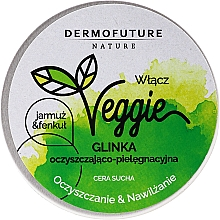 Fragrances, Perfumes, Cosmetics Cleansing Face Clay - DermoFuture Veggie Kale & fennel Pasta