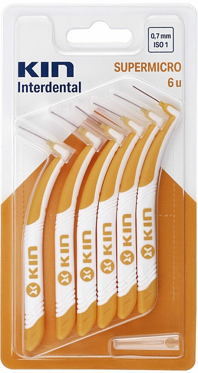 Interdental Brush 0,7 mm - Kin Supermicro ISO 1 — photo N1