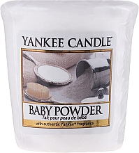 Fragrances, Perfumes, Cosmetics Scented Candle - Yankee Candle Scented Votive Baby Powder