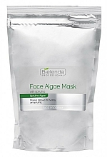 Fragrances, Perfumes, Cosmetics Alginate Face Mask with Spirulina - Bielenda Professional Algae Spirulina Face Mask (refill)