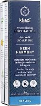 Fragrances, Perfumes, Cosmetics Ayurvedic Scalp Oil - Khadi Ayurvedic Scalp Oil Neem Harmony