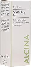 Fragrances, Perfumes, Cosmetics Cleansing Fluid for Oily Skin - Alcina FM Skin Clarifying Fluid