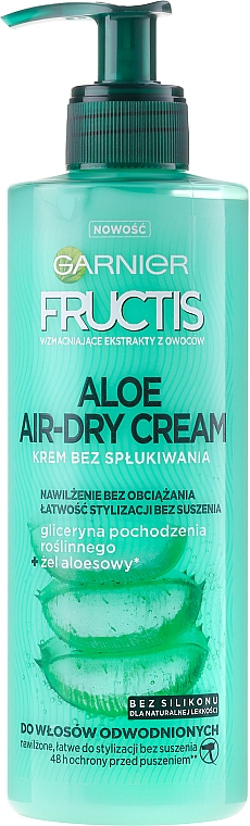Hair Cream - Garnier Fructis Aloe Air-Dry Cream