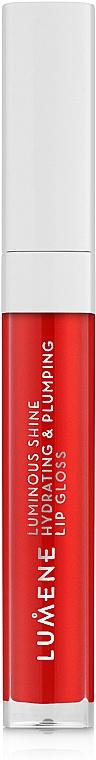 Moisturizing Lip Gloss - Lumene Luminous Shine Hydrating & Plumping Lip Gloss