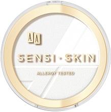 Fragrances, Perfumes, Cosmetics Face Powder - Aa Sensi Skin Puder Prasowany Owsiany Fixing