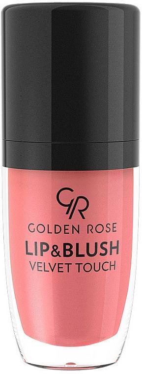 Lip & Blush Stick - Golden Rose Lip & Blush Velvet Touch
