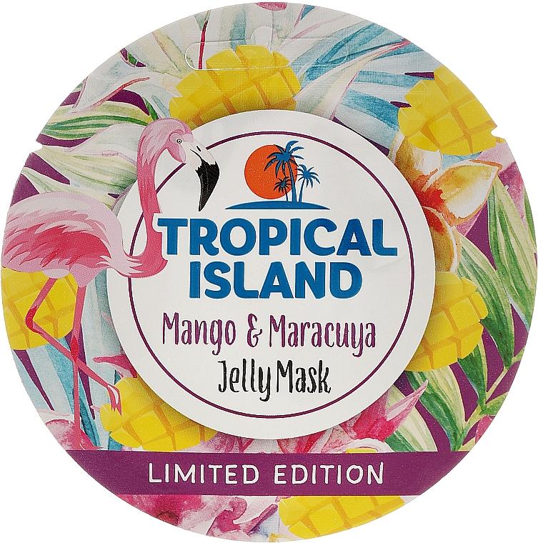 "Facial Mask ""Mango and Passion Fruit"" - Marion Tropical Island Mango & Maracuya Jelly Mask"