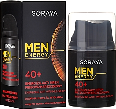 Fragrances, Perfumes, Cosmetics Anti-Wrinkle Cream 40+ - Soraya Men Energy
