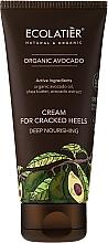 Fragrances, Perfumes, Cosmetics Cream for Cracked Heels - Ecolatier Organic Avocado Cream For Cracked Heels