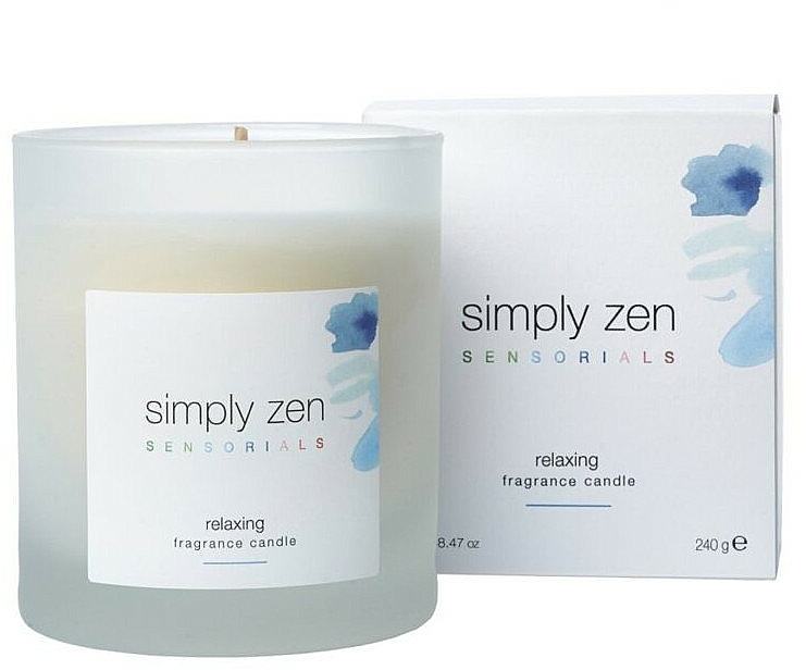 Scented Candle - Z. One Concept Simply Zen Relaxing Scented Candle — photo N1