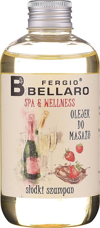 "Massage Oil ""Champagne"" - Fergio Bellaro Massage Oil Sweet Champagne"