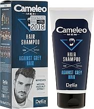 Fragrances, Perfumes, Cosmetics Anti-Grey Hair Shampoo for Men - Delia Cameleo Men Against Grey Hair Shampoo