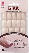 Fragrances, Perfumes, Cosmetics False Nail Set with Glue - Kiss Salon Acrylic Nude Nails Cashmere