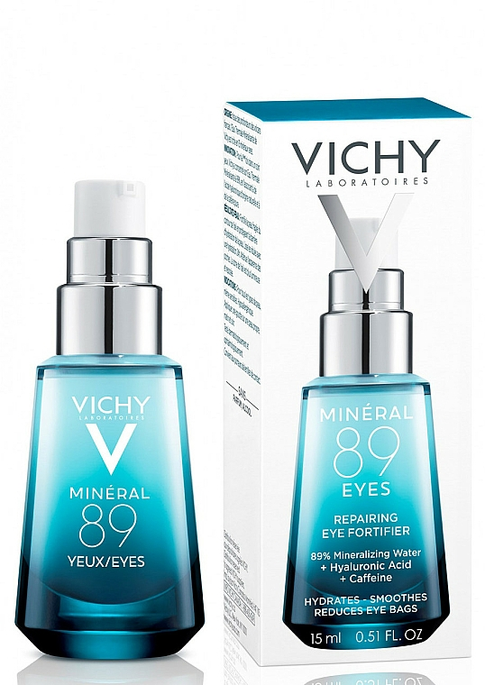 Restoring and Strengthening Eye Care - Vichy Mineral 89 Yeux