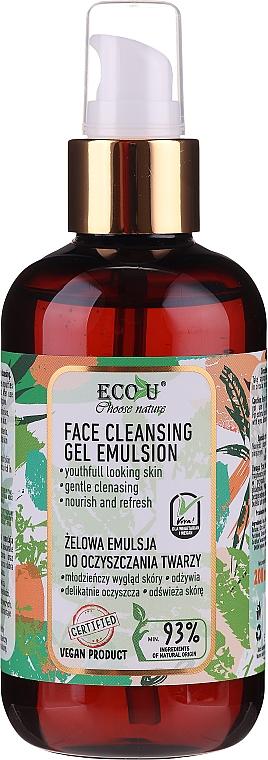 Facial Cleansing Gel Emulsion - Eco U Face Cleansing Gel Emulsion