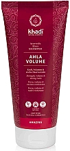 Fragrances, Perfumes, Cosmetics Alma Shampoo - Khadi Shampoo Amla Volume