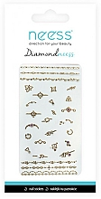 Fragrances, Perfumes, Cosmetics Nail Art Stickers, 3712 - Neess Diamondneess