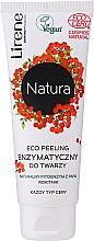 Fragrances, Perfumes, Cosmetics Enzyme Face Eco Peeling - Lirene Natura Eco Peeling