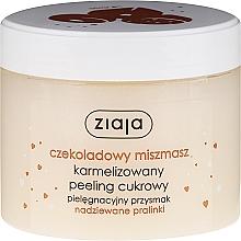 "Fragrances, Perfumes, Cosmetics Sugar Body Peeling ""Chocolate Praline"" - Ziaja Sugar Body Peeling"
