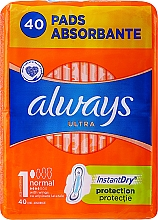 Fragrances, Perfumes, Cosmetics Sanitary Pads, 40pcs - Always Ultra Normal Plus