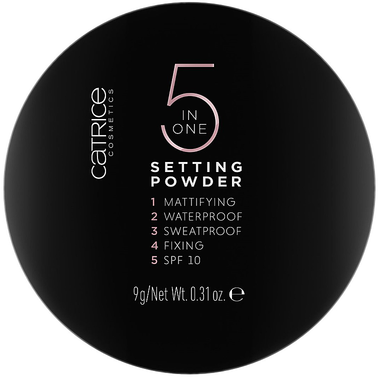 Face Powder - Catrice 5 in 1 Setting Powder