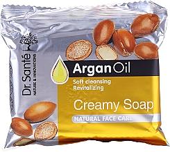 Fragrances, Perfumes, Cosmetics Facial Argan Oil Cream Soap - Dr.Sante Cream Soap