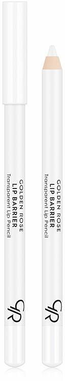 Transparent Lip Pencil - Golden Rose Lip Barrier Transparent Lip Pencil