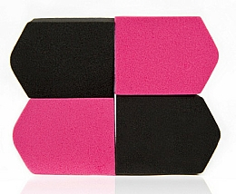 Fragrances, Perfumes, Cosmetics Makeup Sponge, multicolored, 4 pcs. 4307 - Donegal Blending Sponge