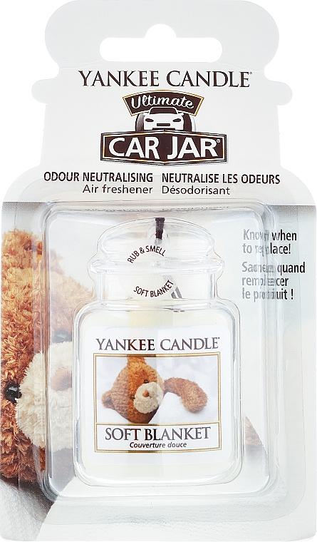 Car Air Freshener - Yankee Candle Car Jar Ultimate Soft Blanket