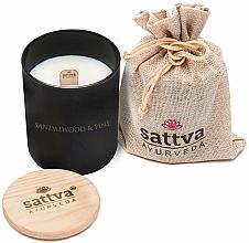 Fragrances, Perfumes, Cosmetics Sandalwood & Pine Scented Candle - Sattva Sandalwood & Pine Candle