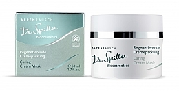 Fragrances, Perfumes, Cosmetics Caring Cream Mask - Dr. Spiller Alpenrausch Caring Cream Mask