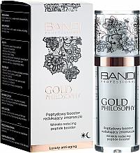 Fragrances, Perfumes, Cosmetics Anti-Wrinkle Peptide Booster - Bandi Professional Gold Philosophy Wrinkle Reducing Peptide Booster