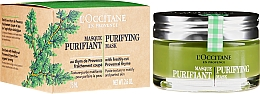 Fragrances, Perfumes, Cosmetics Cleansing Face Mask - L'Occitane Purifying Mask