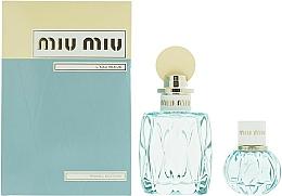 Fragrances, Perfumes, Cosmetics Miu Miu L'Eau Bleue - Set (edp/100ml + edp/20ml)
