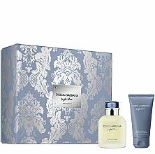 Fragrances, Perfumes, Cosmetics Dolce&Gabbana Light Blue Pour Homme - Set (edt/75ml + ash/balm/50ml)