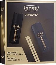 Fragrances, Perfumes, Cosmetics STR8 Ahead - Set (b/spray/75ml + deo/150ml)