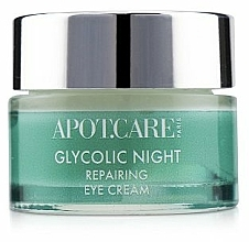 Fragrances, Perfumes, Cosmetics Repair Night Eye Cream - APOT.CARE Glycolic Night Eye Cream