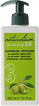 "Fragrances, Perfumes, Cosmetics Cleansing Face, Hand and Body Gel ""Olive"" - Naturalium Revitalizing Cleansing Gel"