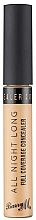 Fragrances, Perfumes, Cosmetics Concealer - Barry M All Night Long Concealer (Creme Brulee)