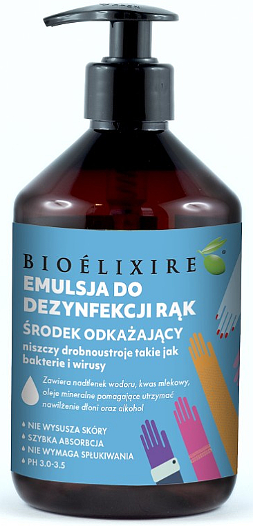 Hand Antiseptic - Bioelixire — photo N3