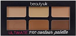Fragrances, Perfumes, Cosmetics Contour Palette - Beauty UK Ultimate PRO Contour Palette