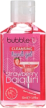 "Fragrances, Perfumes, Cosmetics Antibacterial Hand Gel ""Strawberry Daiquiri"" - Bubble T Cleansing Hand Gel Strawberry Daiquiri"