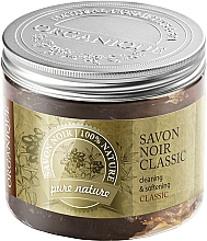 Fragrances, Perfumes, Cosmetics Natural Olive Oil - Organique Savon Noir Cleaning&Softening