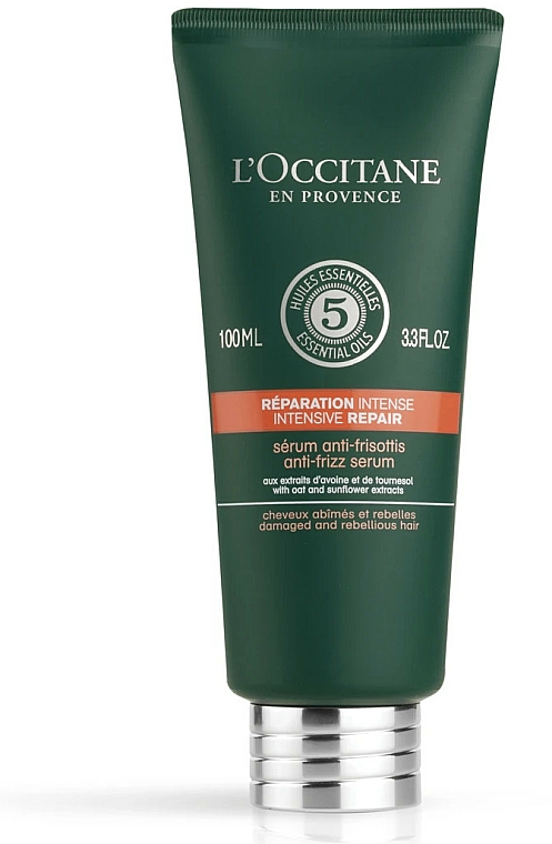 Hair Serum - L'Occitane Aromachologie Anti-Frizz Serum — photo N1