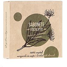 "Fragrances, Perfumes, Cosmetics Natural Soap ""Eucalyptus"" - Essencias De Portugal Senses Eucalyptus Soap With Olive Oil"
