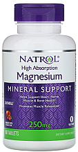 Fragrances, Perfumes, Cosmetics High Absorption Magnesium with Cranberry & Apple Taste, 250 mg - Natrol Magnesium