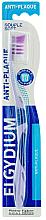 Fragrances, Perfumes, Cosmetics Anti-Plaque Soft Toothbrush, purple - Elgydium Anti-Plaque Soft Toothbrush